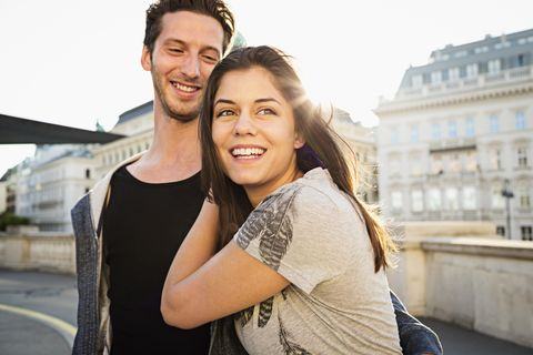 Photograph, People, Facial expression, Smile, Shoulder, Beauty, Friendship, Fun, Honeymoon, Photography,
