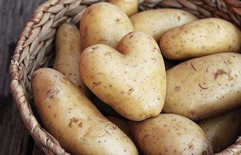 Potassium rich potatoes