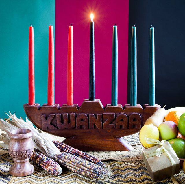 first day of kwanzaa , umoja   unity in family, community, nation and race , way to success