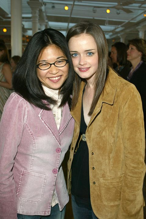 405473 05 actress keiko agena l and actress alexis bledel attend the warner brother wb casting call 2002 presented by clean  clear at the puck bldg may 15, 2002 in new york city photo by jimi celestegetty images