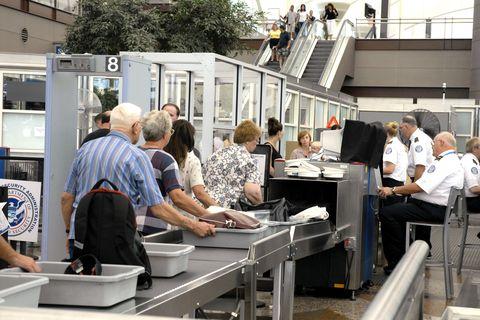 Denver Airport Security