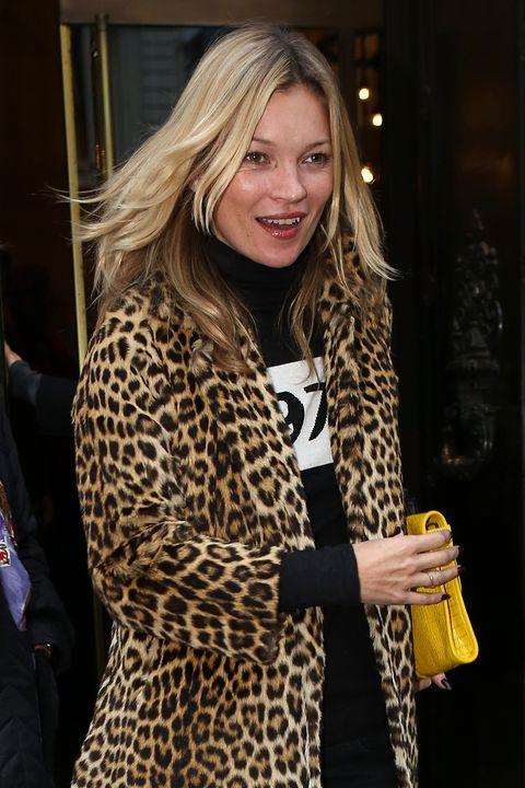 Kate Moss Sighting In London - November 1, 2012