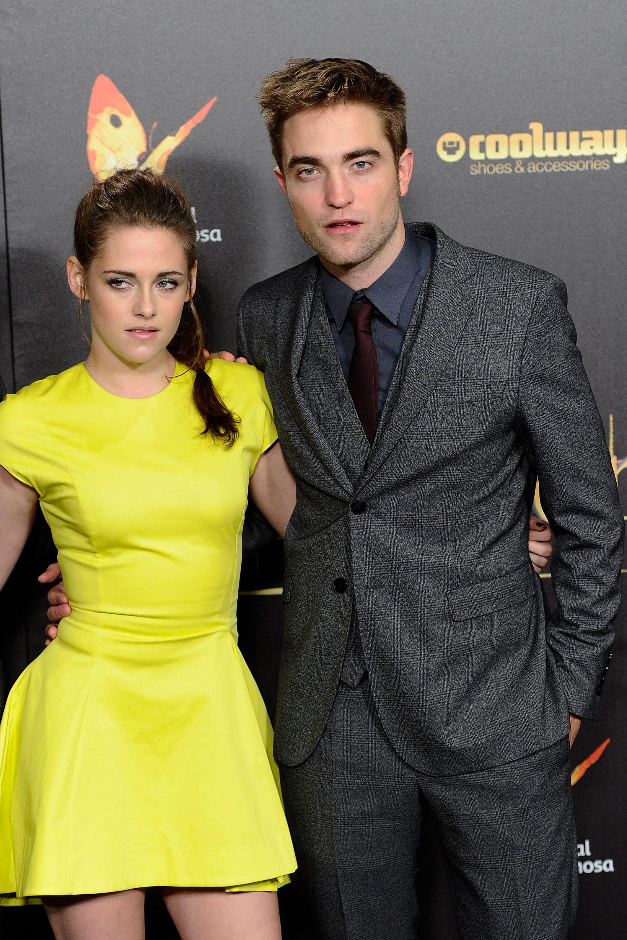 Kristen Stewart and Robert Pattison