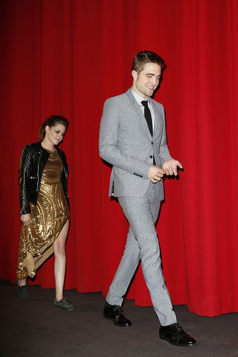 berlin, germany   november 16editors note entertainment online subscriptions glr included kristen stewart and robert pattinson attend the twilight saga breaking dawn part 2 germany premiere at cinestar on november 16, 2012 in berlin, germany photo by franziska kruggetty images