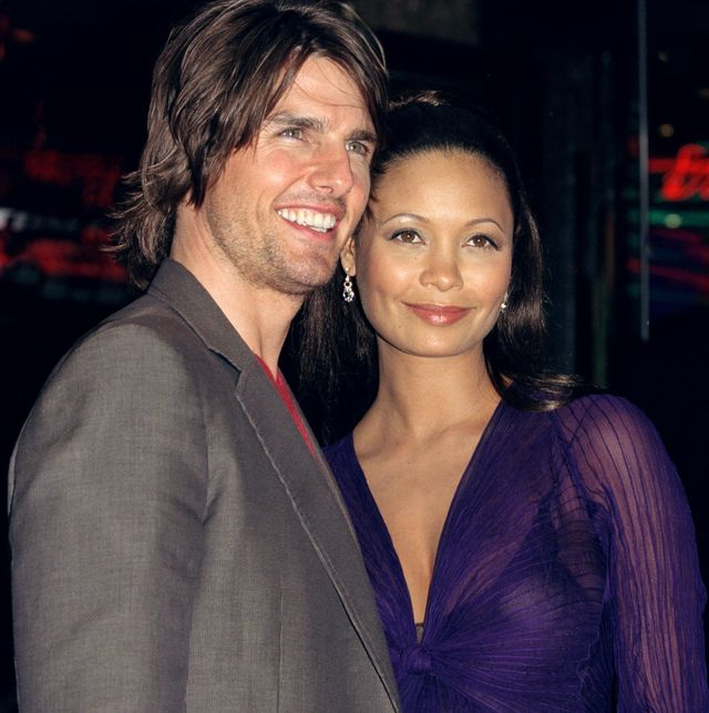 tom cruise  thandie newton attend the missionimpossible 2 premiere in londons west end photo by antony jonesuk press via getty images