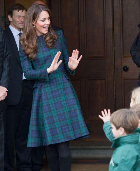 Kate Middleton at Christmas