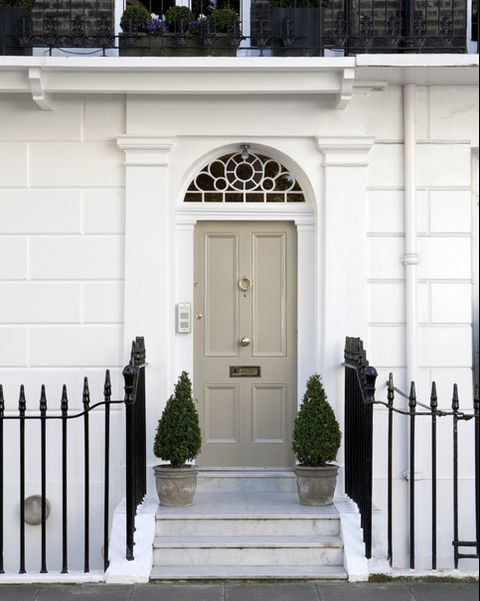 White, Property, Door, Building, Home, House, Iron, Architecture, Gate, Facade,