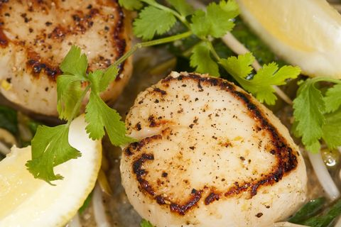 Lime-Ginger Scallops