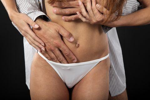 Undergarment, Abdomen, Briefs, Stomach, Clothing, Underpants, Muscle, Undergarment, Navel, Trunk,