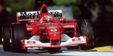 Michael Schumacher S 2002 Ferrari F1 Car Is Coming Up For Sale