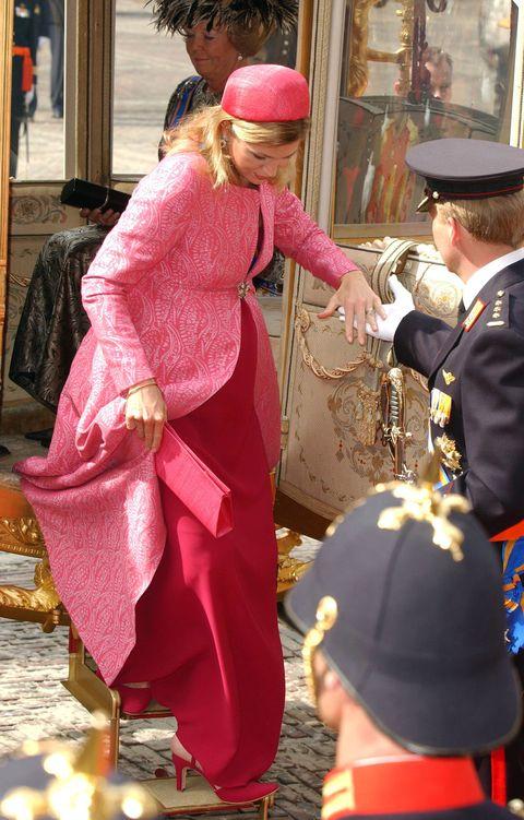 Maxima's mooiste Prinsjesdag-outfits door de jaren heen