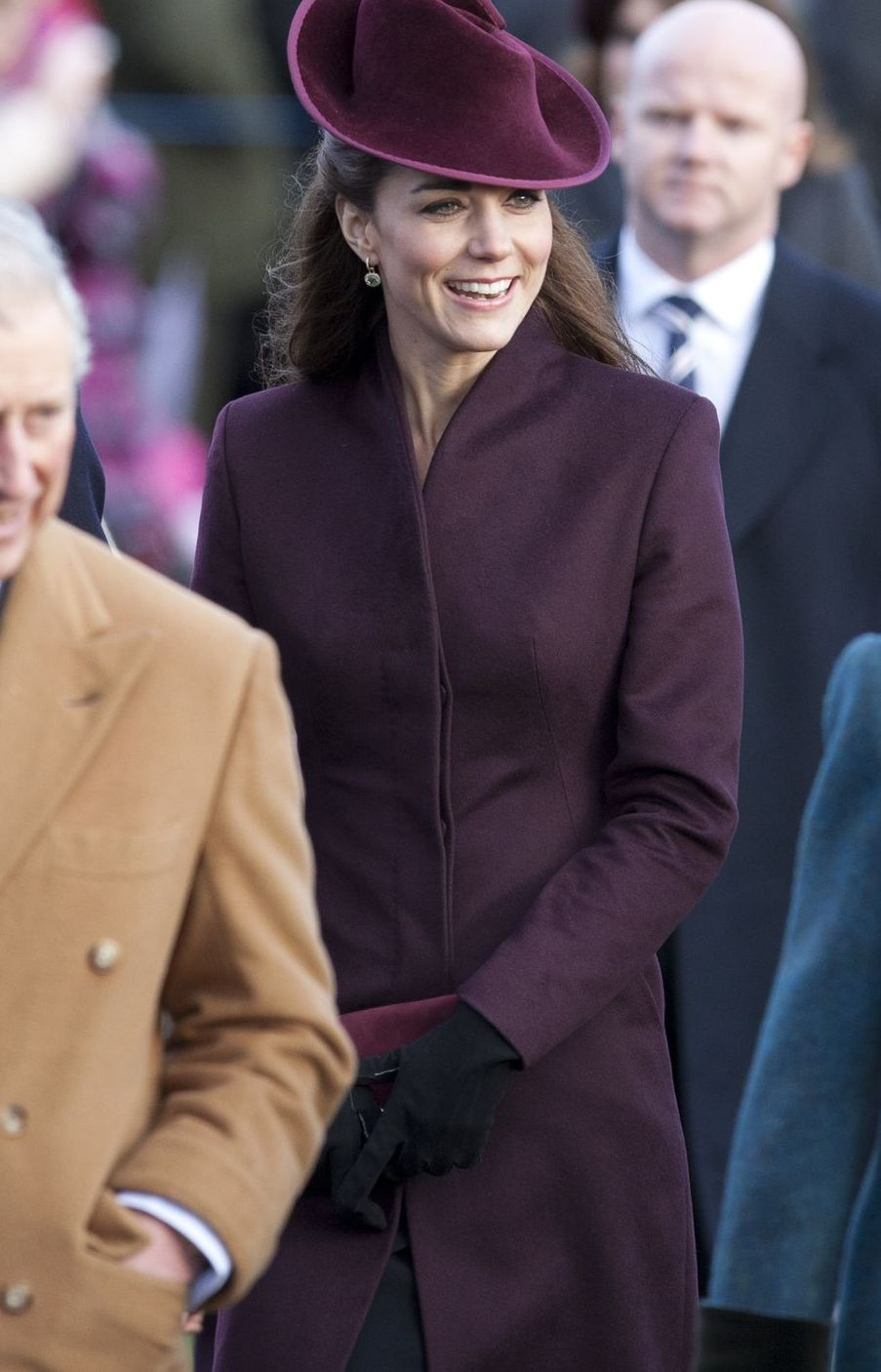 Kate Middleton at Christmas