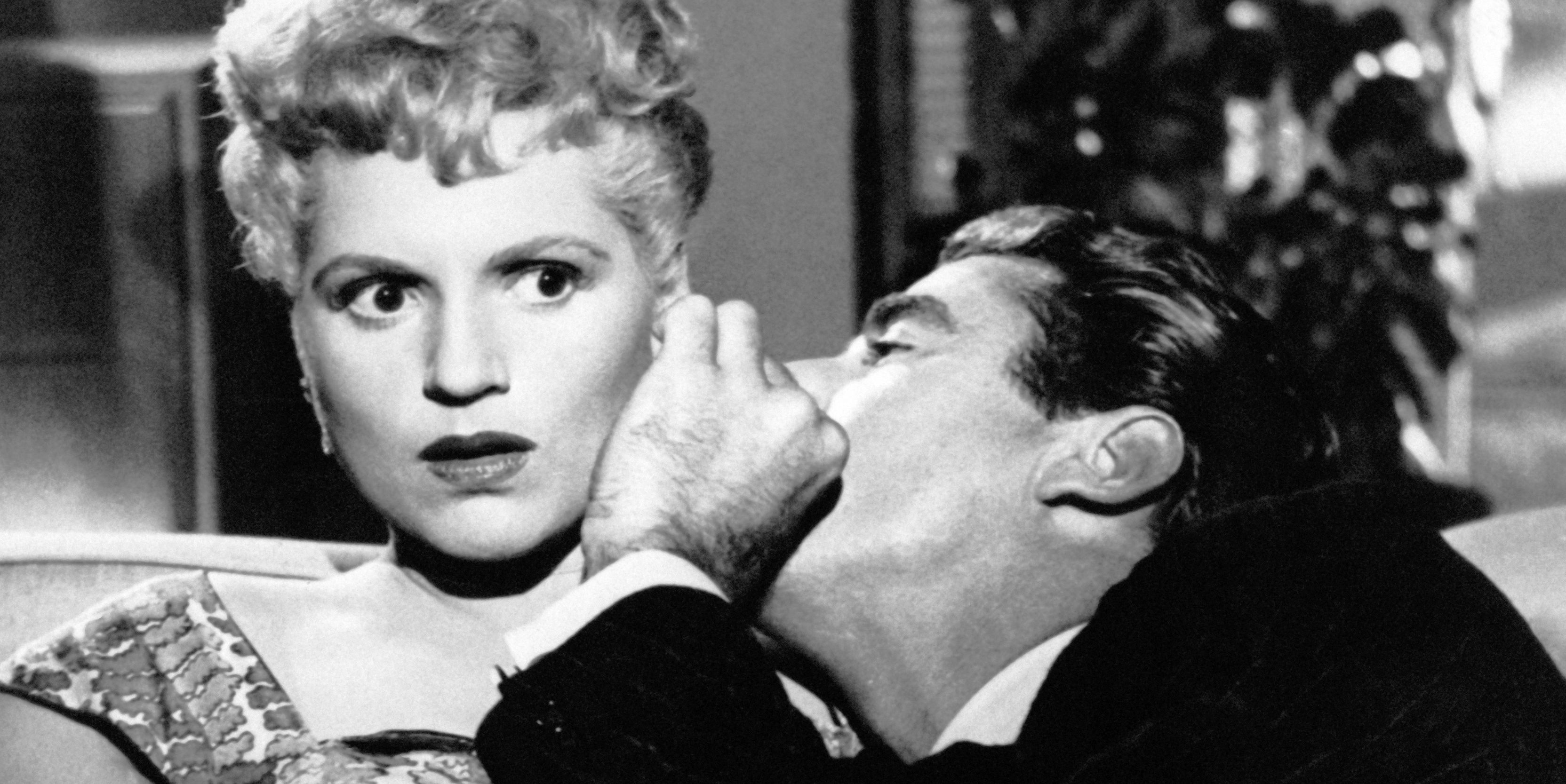 Judy Holliday and Peter Lawford in It Should Happen to You