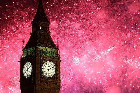 London Celebrates New Year's Eve