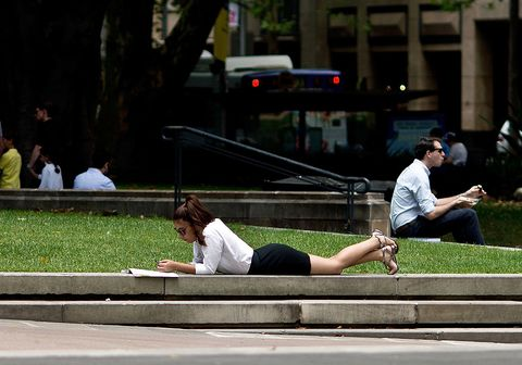 Sitting, Snapshot, Public space, Leisure, Grass, Tree, Infrastructure, Street, Architecture, Photography,