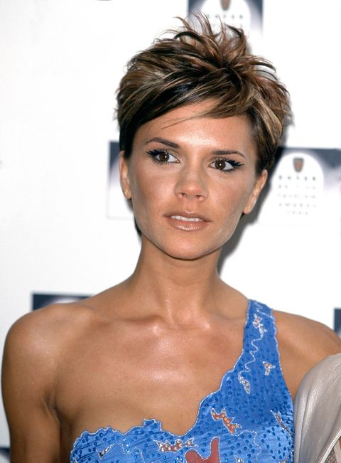 victoria beckham make-up looks