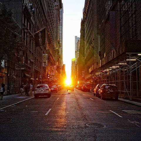 manhattanhenge summer 2019 nyc new york city