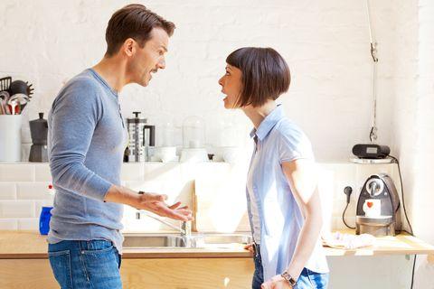 Small appliance, Kitchen, Child, Home appliance, Denim, Kitchen appliance, Cooking, Gesture,