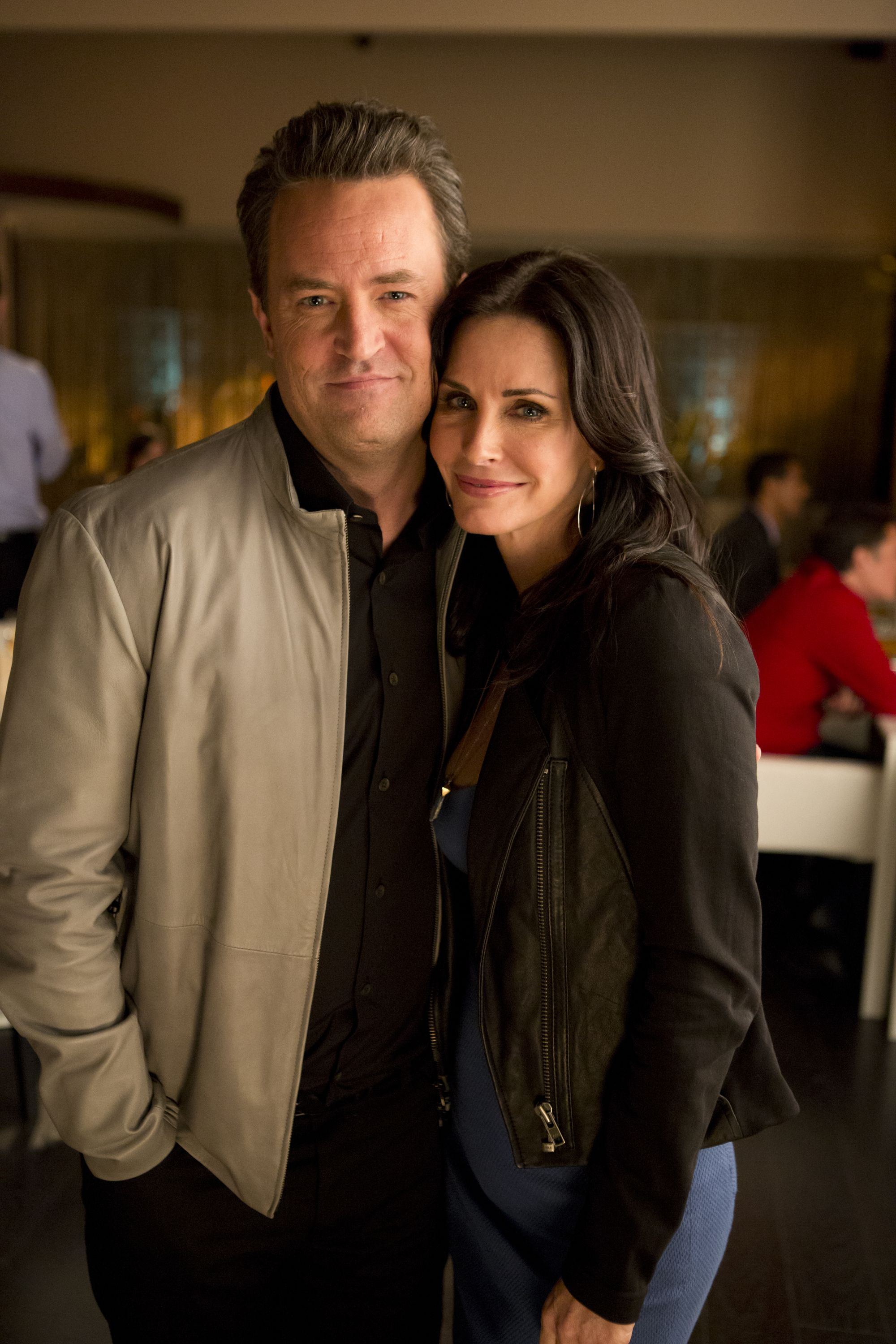 "Matthew Perry Has Reportedly ""Always Been in Love With"" 'Friends' Co-star Courteney Cox"