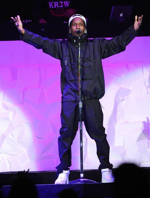 Toronto, le 18 mars aap rocky se produit en concert au centre air canada le 18 mars 2013 à toronto, canada photo de george pimentelwireimage