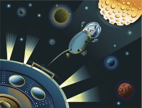 Space, Outer space, Spacecraft, Games, Illustration, Astronomical object, Science, Screenshot, Circle, Art,