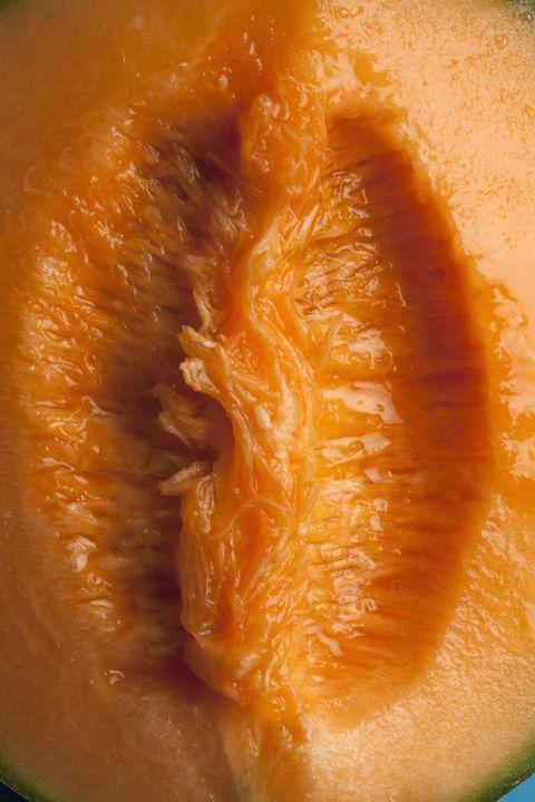 Food, Orange, Melon, Close-up, Muskmelon, Fruit, Cantaloupe, Produce, Plant, Peach,