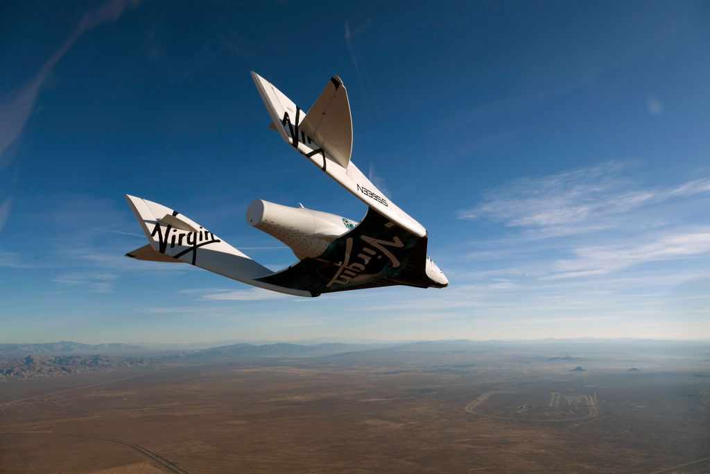 Richard Branson's Plans for Space Tourism Sure Are Aggressive