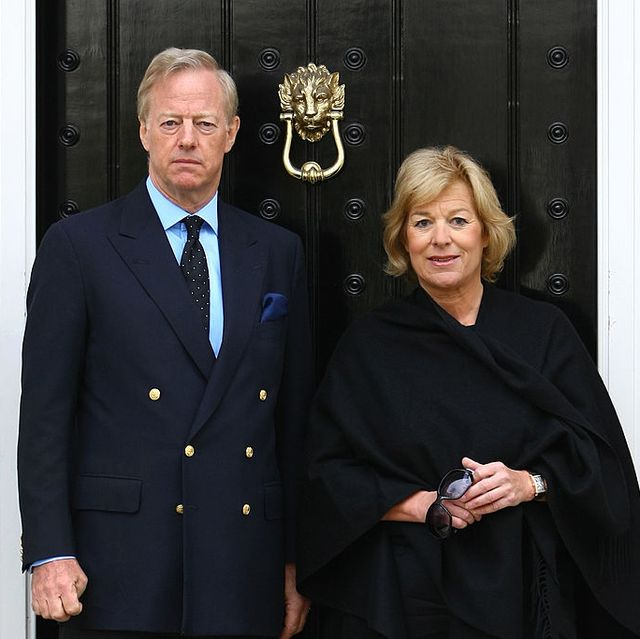 london, england   april 13  carol thatcher r and mark thatcher l, son and daughter of former prime minister margaret thatcher, pose for a photograph outside the family home on april 13, 2013 in london, england downing street announced that the funeral of former prime minister baroness thatcher will take place at londons st pauls cathedral on april 17  photo by jordan mansfieldgetty images