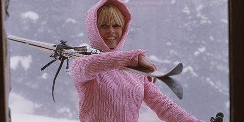 Fashion, Outerwear, Recreation, Snow, Ski pole,