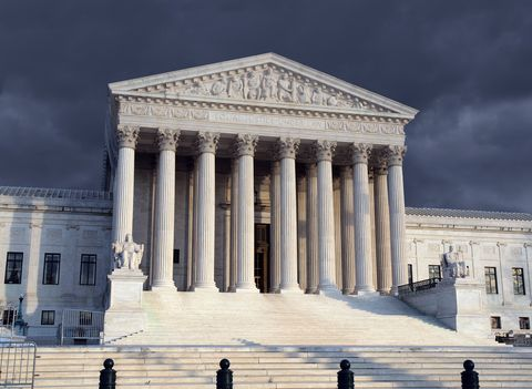 Supreme Court Afternoon Storm