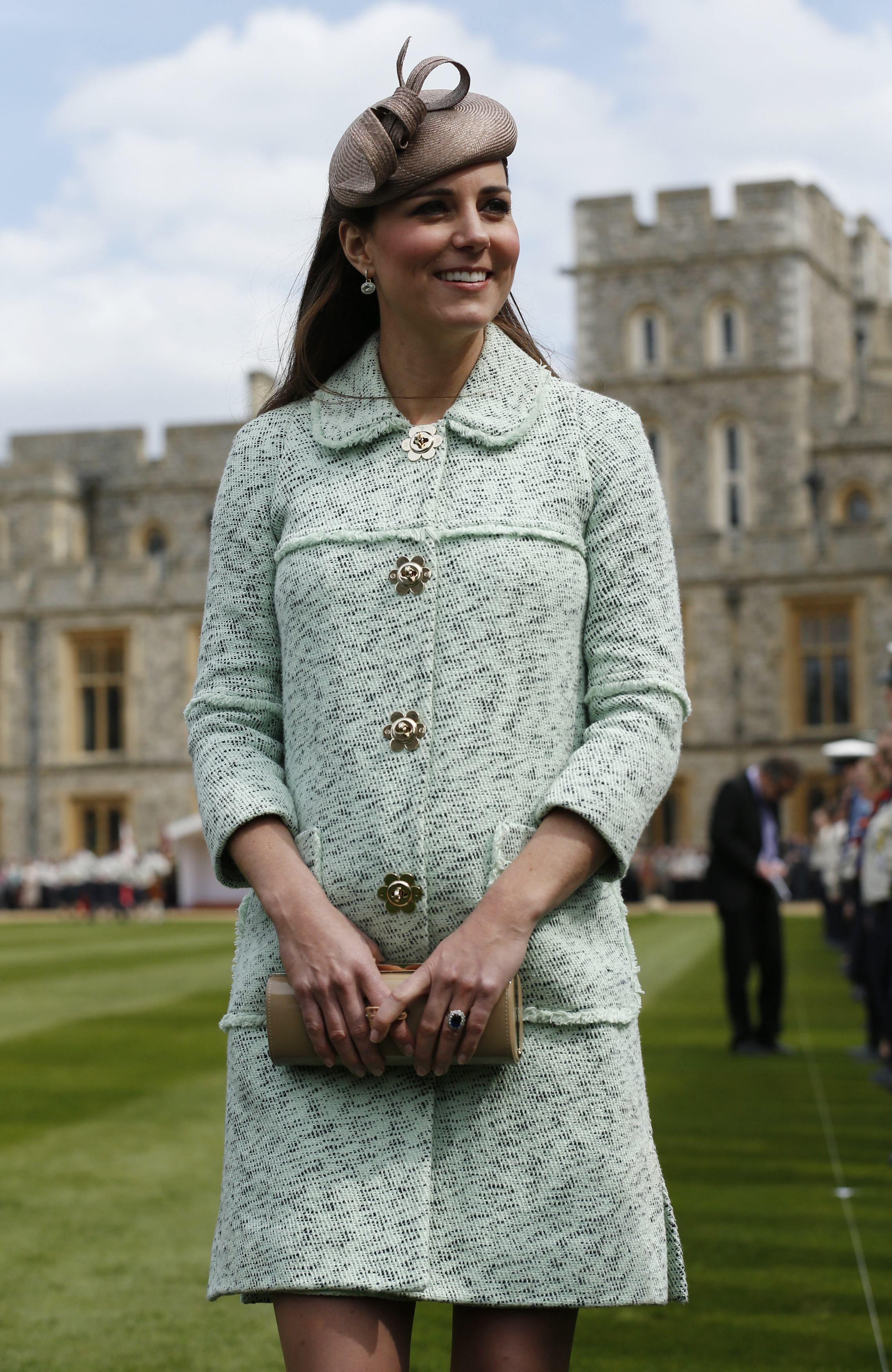 Kate middletons best maternity outfits kates chic pregnant style ombrellifo Image collections
