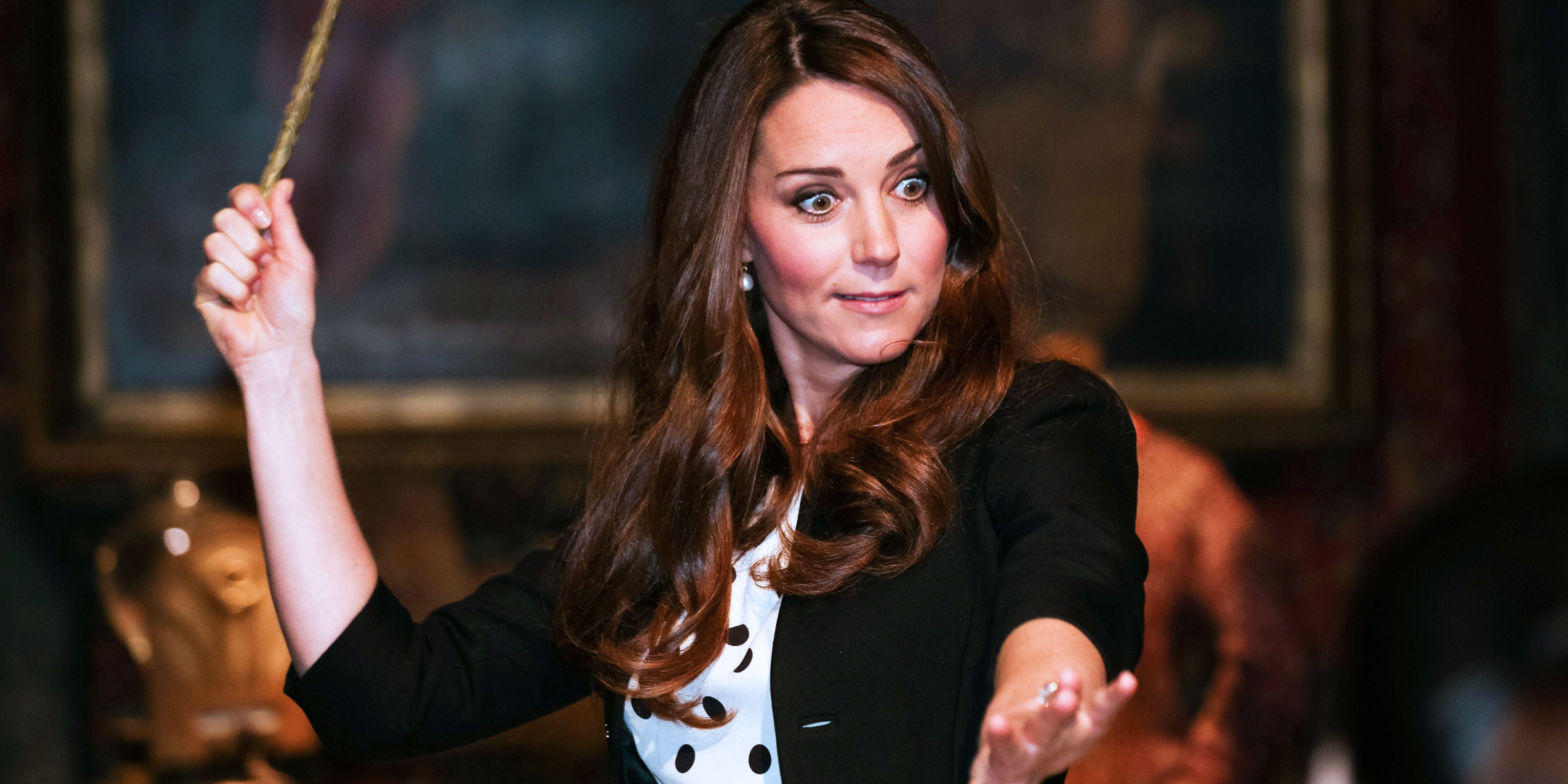 Duchess Catherine Kate Middleton Harry Potter