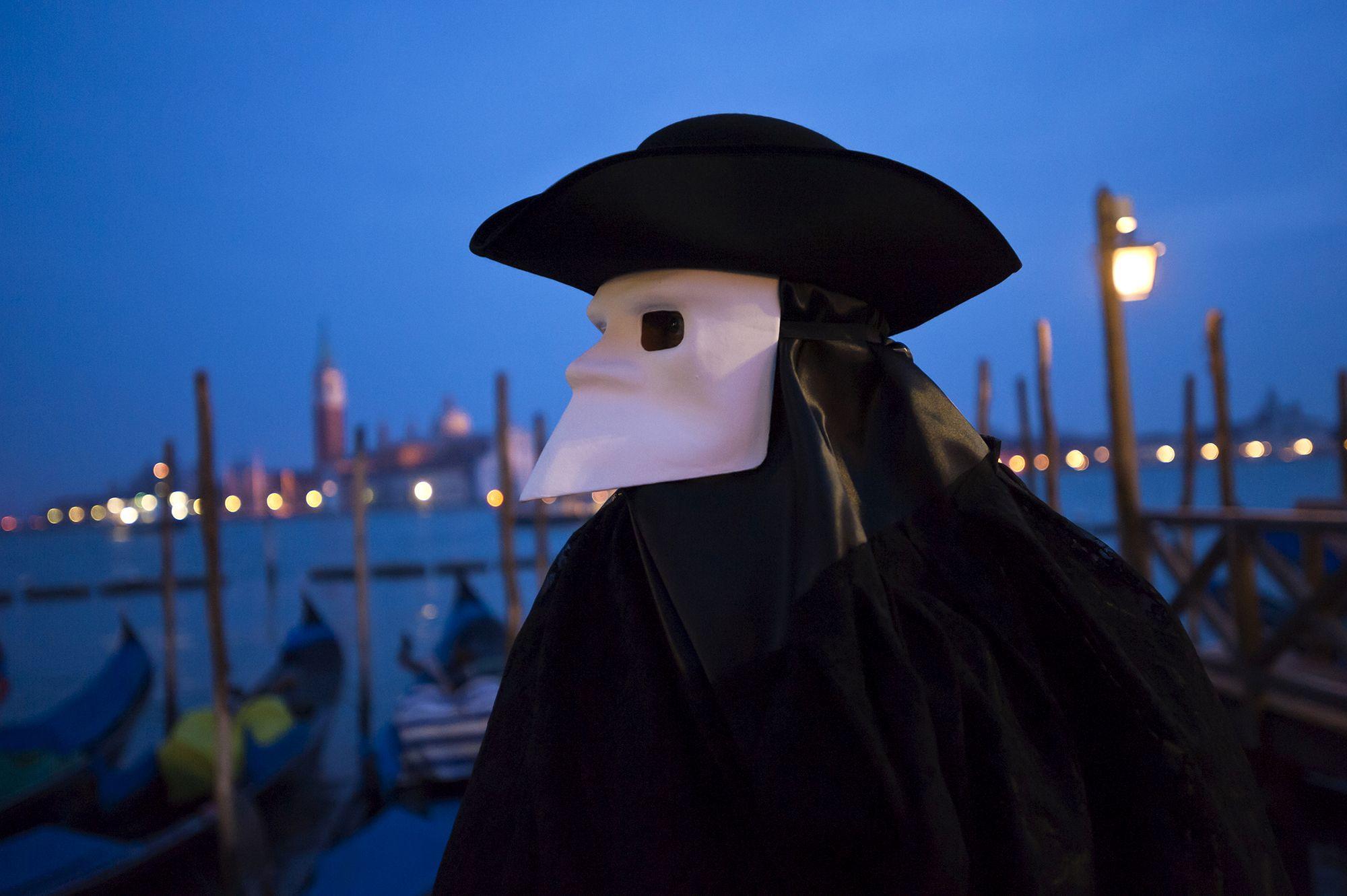 Máscara carnaval de Venecia