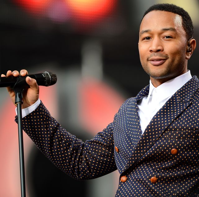 london, england   june 01  singer john legend performs on stage at the chime for change the sound of change live concert at twickenham stadium on june 1, 2013 in london, england chime for change is a global campaign for girls and womens empowerment founded by gucci with a founding committee comprised of gucci creative director frida giannini, salma hayek pinault and beyonce knowles carter  photo by ian gavangetty images for gucci