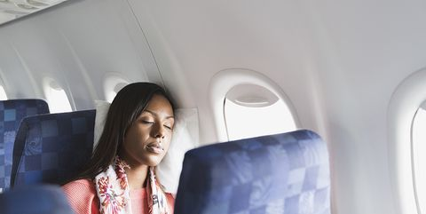 The surprising reason you should never fall asleep during take off on a plane