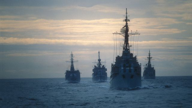 ¿qué es la flota de barcos fantasma del pentágono