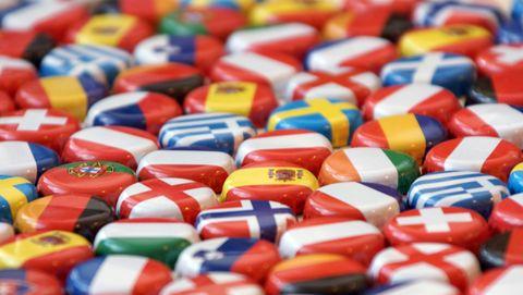 Verschillende vlaggen