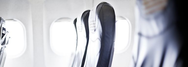 This is why plane seats don't line directly up with the windows