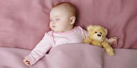 Child, Stuffed toy, Teddy bear, Baby, Toy, Toddler, Pink, Head, Skin, Cheek,