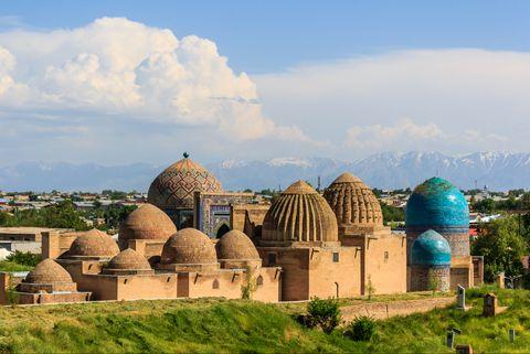 Landmark, Dome, Historic site, Dome, Sky, Tourism, Architecture, Building, Mosque, Ancient history,