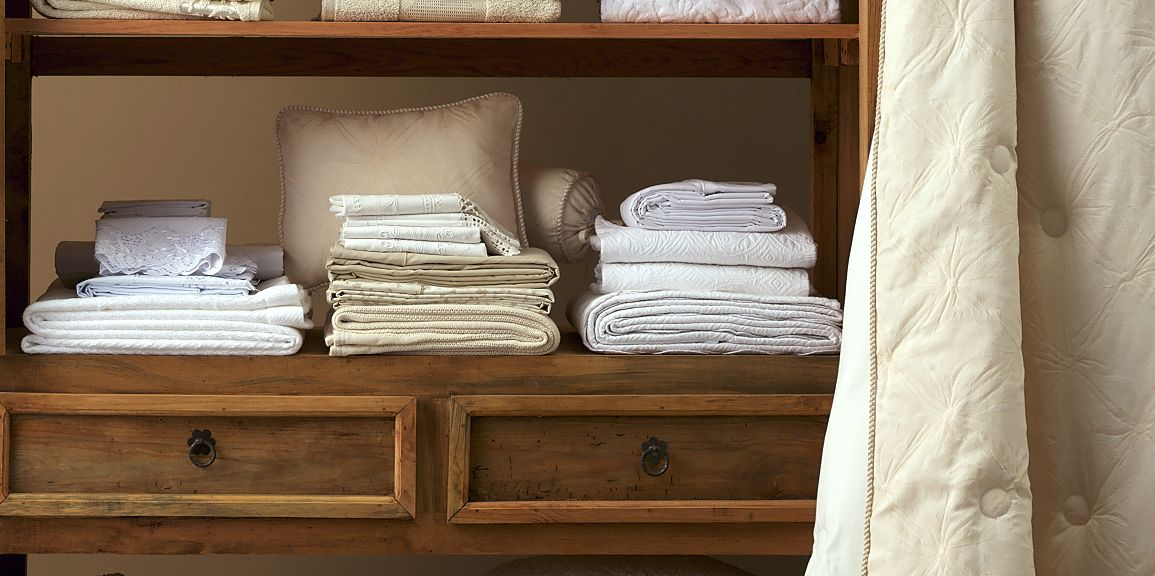 This genius hack will change the way you organise your sheets drawer