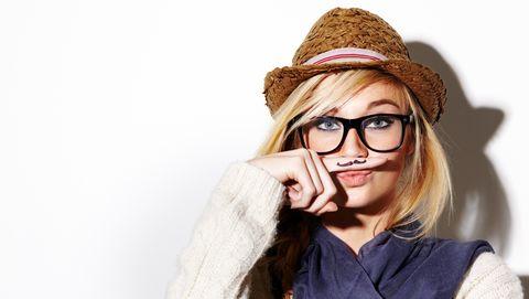 Mustache Woman