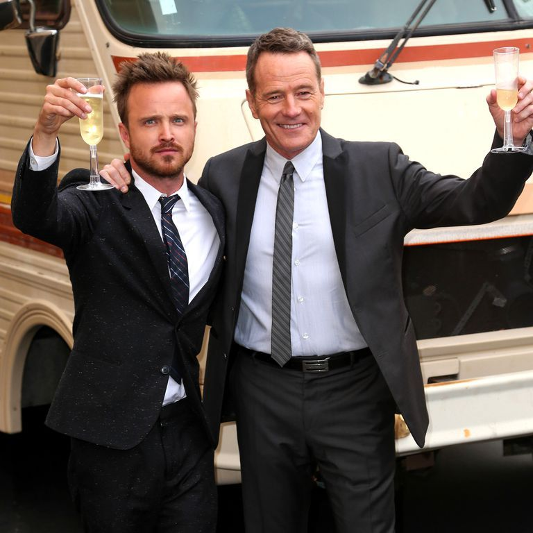 Bryan Cranston and Aaron Paul Just Teamed Up to Make a Mezcal Called 'Dos Hombres'