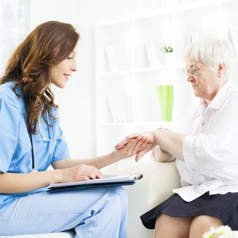 consultation with doctor for skin condition