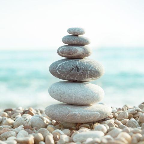 Pebble on beach