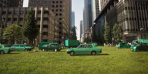 Urban greening plan