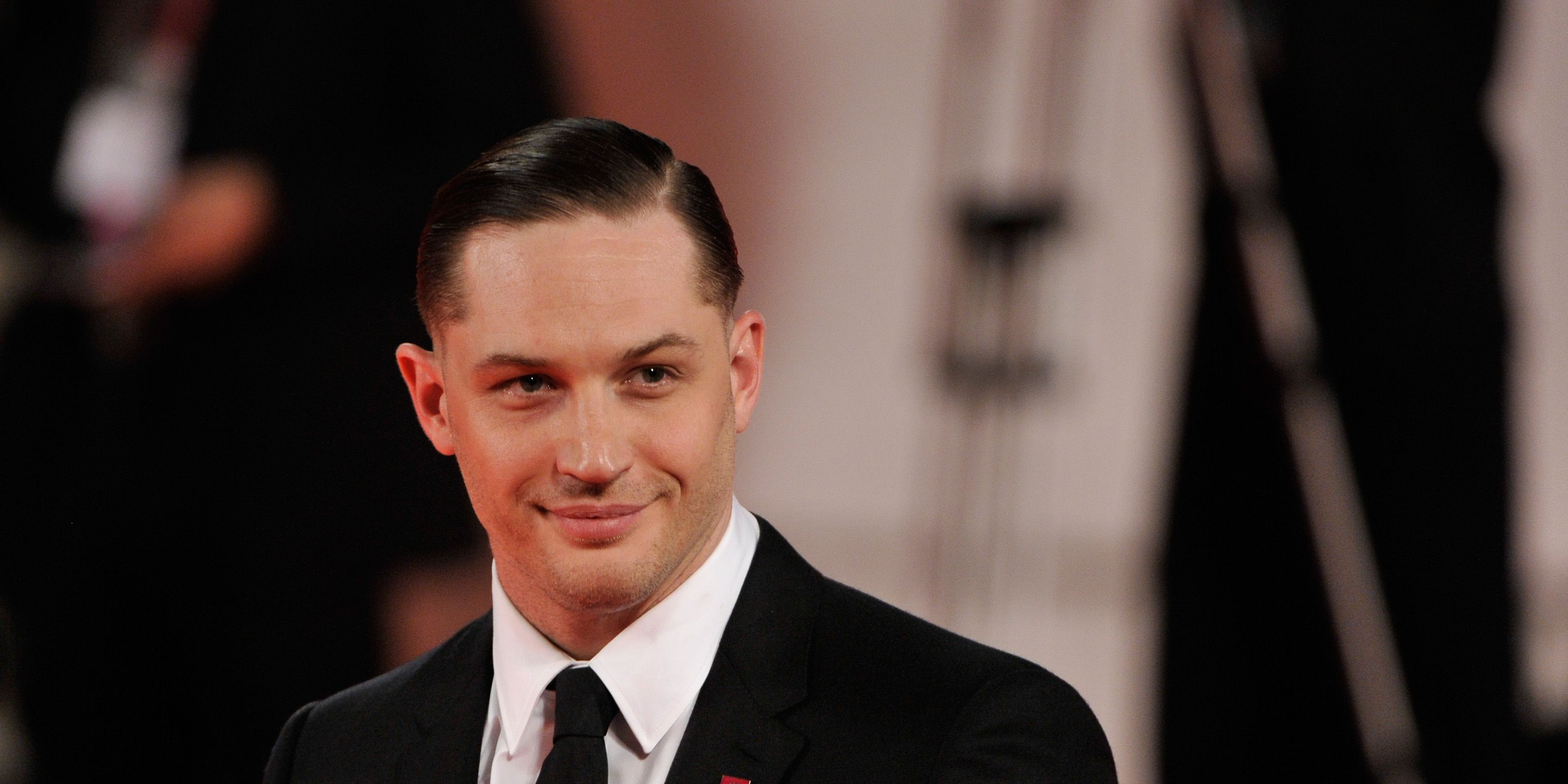 Tom Hardy has been rehoming dogs he found in the park