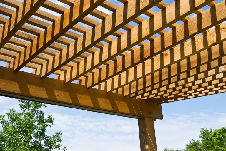 Step-by step plans to make an arbor-like cedar structure, with 3D animation  and master-level blueprints. - How To Build A Pergola Step By Step - DIY Building A Pergola