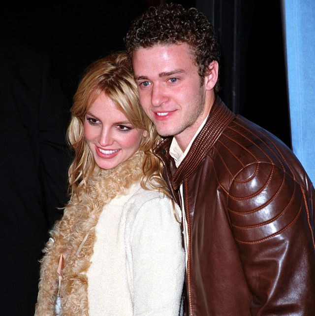 britney spears and justin timberlake during britney spears album release party for britney at centro fly   november 6, 2001 at centro fly in new york city, new york, united states photo by james devaneywireimage