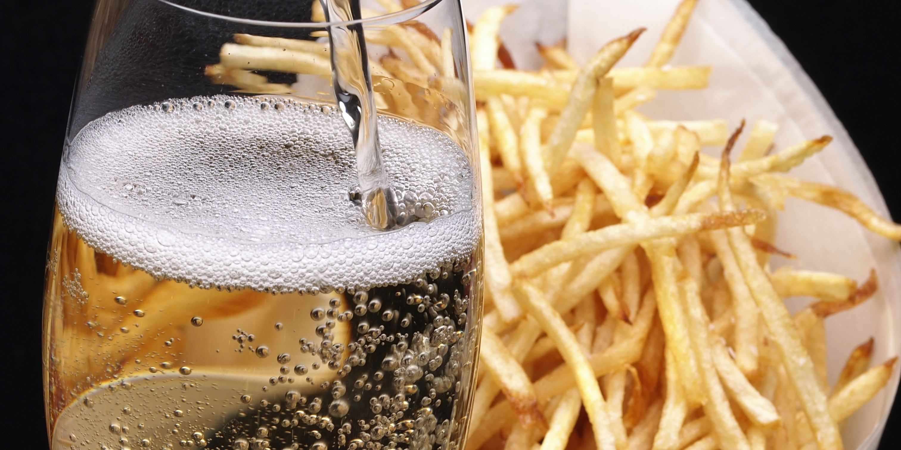 If You're Not Drinking Champagne With French Fries, You're Doing It Wrong